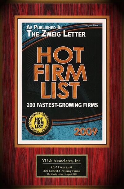 2009 Hot Firm List