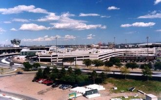Continental Terminal C Garage at Newark Airport
